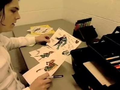 Рисунки джерарда уэя карандашом